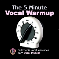 The 5 Minute Warmup For Your Voice - full instructions, pictures and soundfiles showing you exactly how to warm up your voice in 5 minutes.